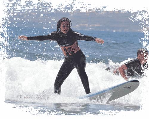 Foto de portada de nuestro curso intensivo de surf en k16 Surf school Tenerife